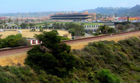 View of the Del Mar Fairgrounds and race track  - Picture of