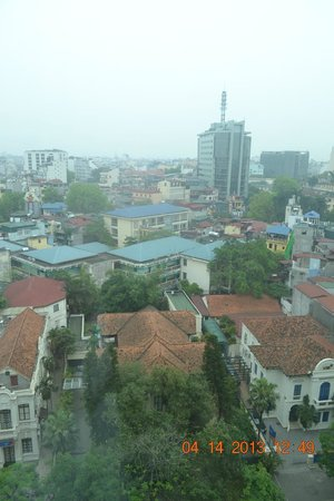Movenpick Hotel Hanoi: view from the 11th floor