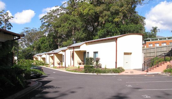 Eastgate on the Range: These double units are at the rear of the complex