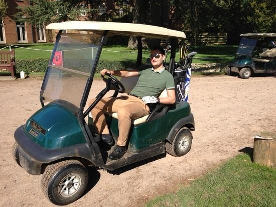 Coulsdon Manor & Golf Club: they have buggy hire, if you are feeling lazy!