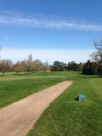 Coulsdon Manor & Golf Club: looking back from the 2nd