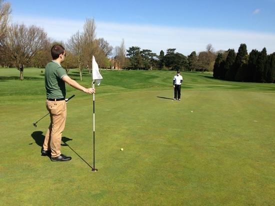 Coulsdon Manor & Golf Club: lightning quick greens