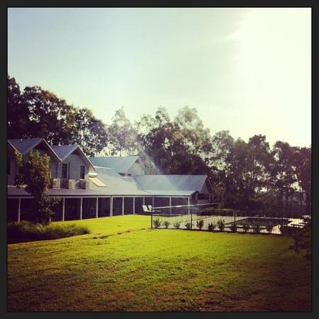 Spicers Vineyards Estate: The rear of the residence.