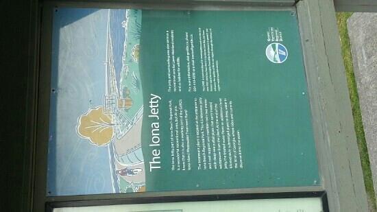 Iona Beach Regional Park: Iona sign