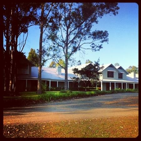 Spicers Vineyards Estate : The front of Spicers.