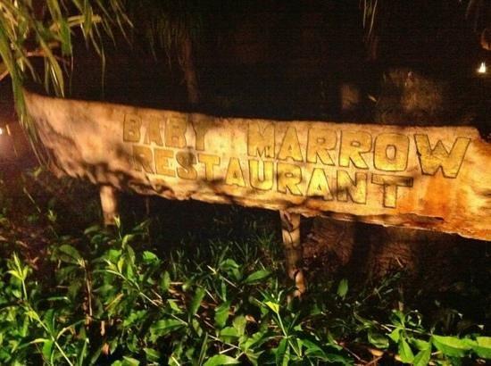 Baby Marrow: the entrance