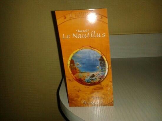 Hotel Le Nautilus: carte de l'hôtel