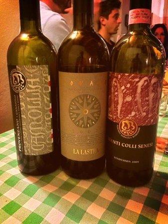 Agriturismo Marciano: alcuni dei loro vini