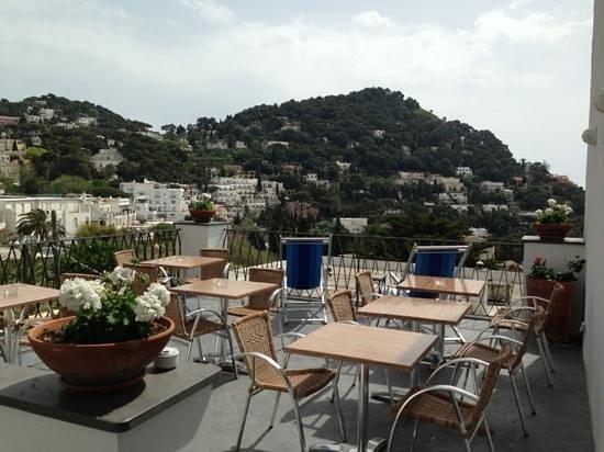 Hotel La Tosca : vista dalla terrazza