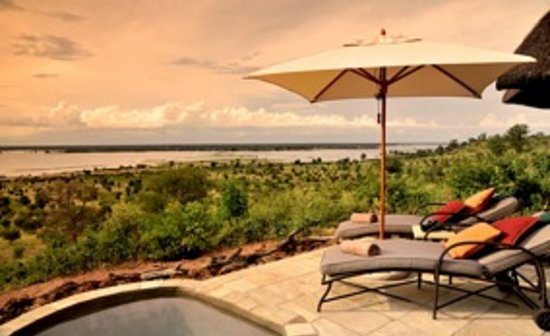 Ngoma Safari Lodge: Outlook from your suite