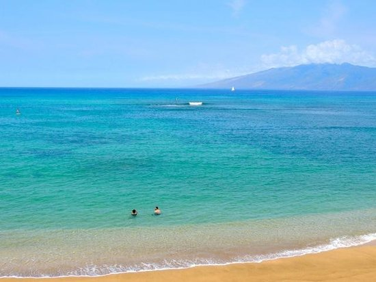Kahana Beach Resort: Can't Beat the View