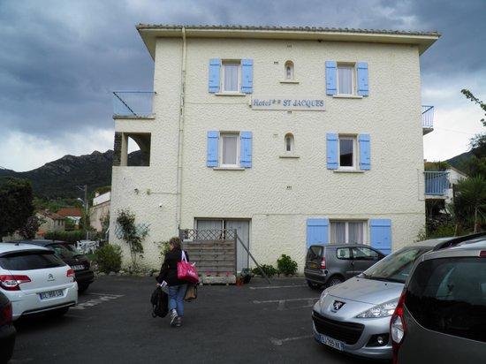 Hotel Saint Jacques : entrée de l'hotel