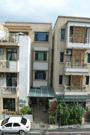 Mistro Homestay: view from my balcony