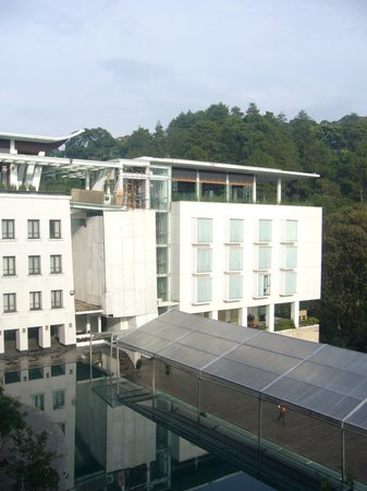 Padma Hotel Bandung: the restaurant on top of the hotel