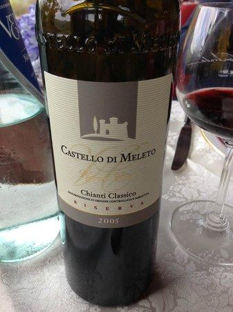 Le Contrade: Wine