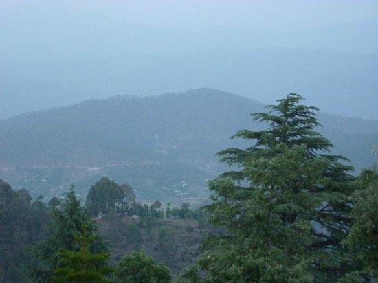 Krishna Mountview Mountain Resort: Evening View