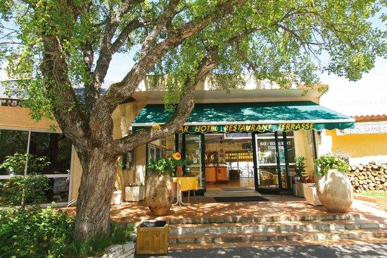 Hotel du Grand Canyon du Verdon : Entrée