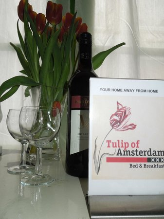 Tulip of Amsterdam B&B: welkom in onze kamer