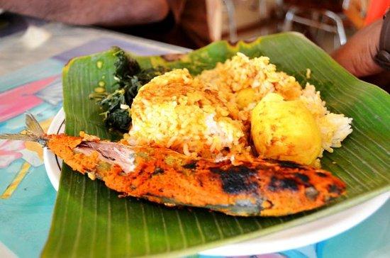 Restaurant Garuda: plated