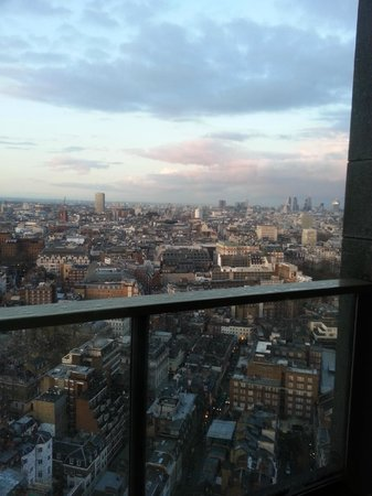 London Hilton on Park Lane: View across city from Bar