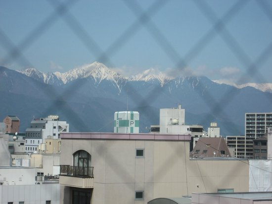 Dormy Inn Matsumoto: View from Our Window
