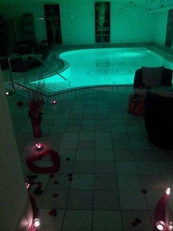 Parkhotel Reibener-Hof: Das private Spa im Hallenbad