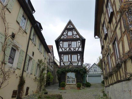 Hotel Grüner Baum: Fachwerkhaus Bad Wimpfen