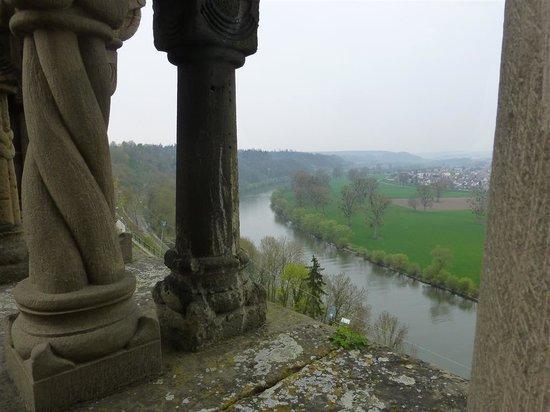 Hotel Grüner Baum: Blick von der Kaiserpfalz auf den Neckar