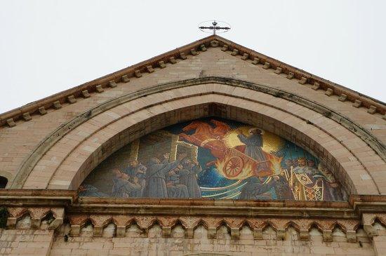 Santuario di Rivotorto: Particolare del santuario