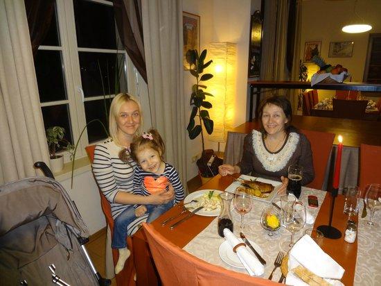 Castle Residence Praha: Ужин в отеле