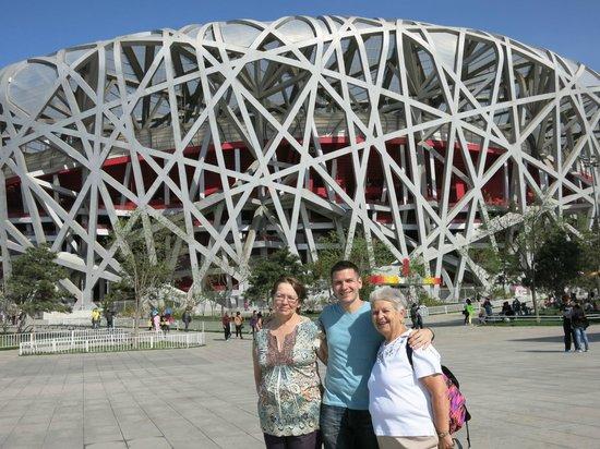 Birds Nest Stadium  Picture Of Beijing Private Tours By Jessie Beijing  Tr