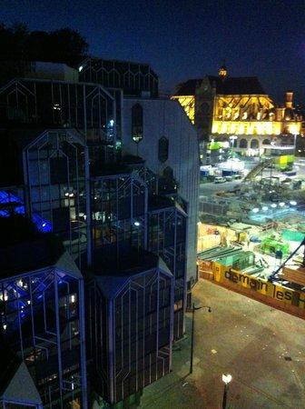 Novotel Paris Les Halles: Vista dal 6° piano