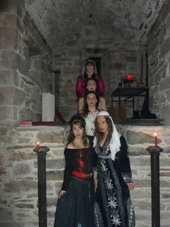 Ballaghmore Castle: Dressed up for diner