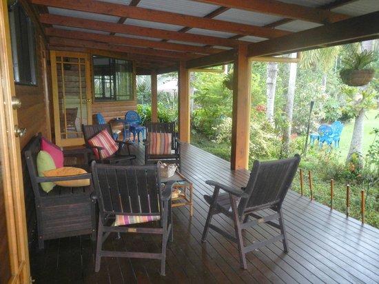 Hibiscus Lodge: Entspannen mit Blick in den Garten