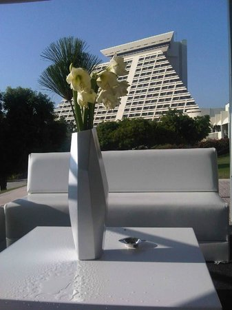 Sheraton Grand Doha Resort & Convention Hotel: view from the garden