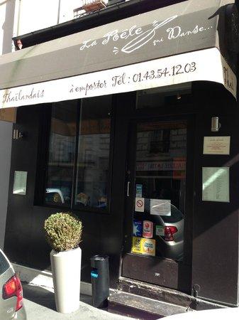 La poele qui danse paris quartier latin restaurant bewertungen telefonnummer fotos - Champignon de paris a la poele ...