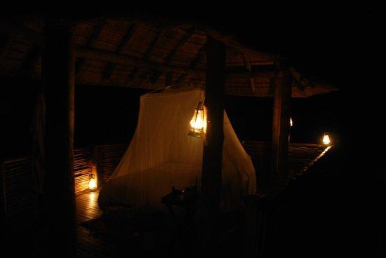 Morukuru Family Madikwe: Sleeping in the hide