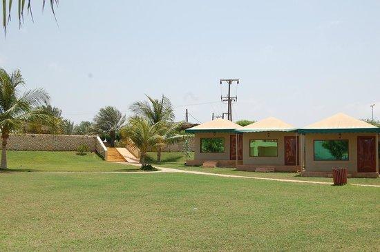 Farasan, Saudi-Arabien: حديقة الفندق