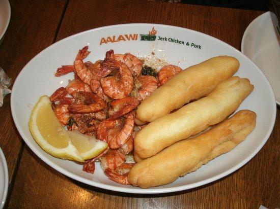 AALAWI: Jerk Shrimp & Festival