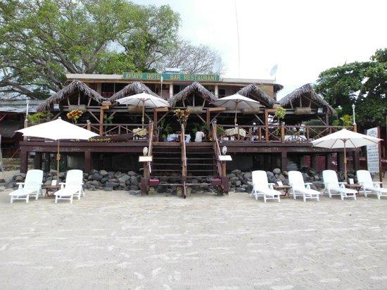 Aviavy Hotel : entrée côté plage