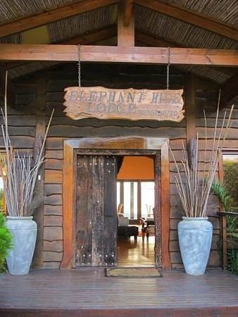 Elephant Hide of Knysna Guest Lodge: Entrance