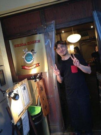 Beer Bar Ushitora: A characterful place