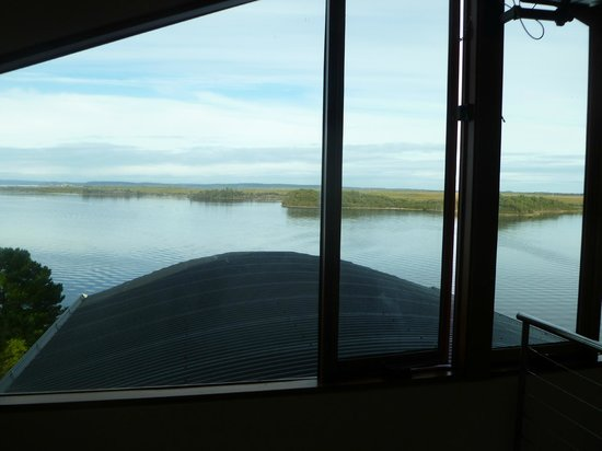 Wheelhouse Apartments: Serene early morning view from bedroom