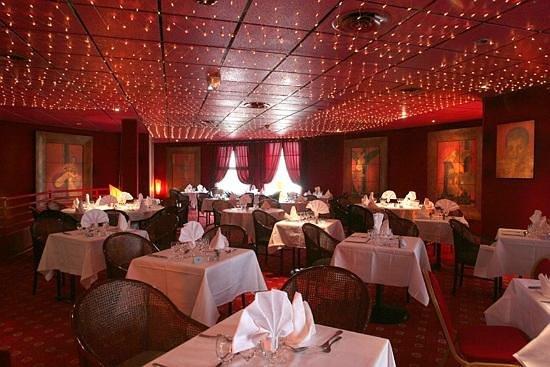 Hotel Leonard de Vinci : Restaurant soirées jazz