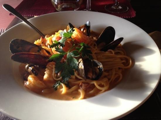 Little Italy : sea food pasta was amazing.