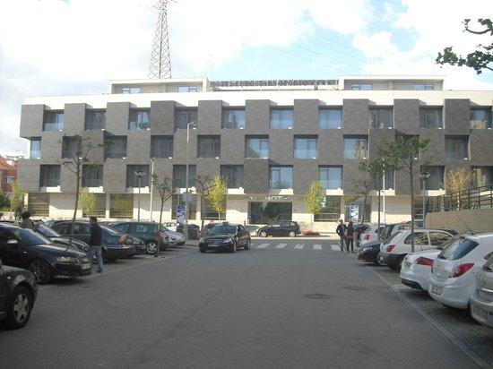 Eurostars Oporto: fachada