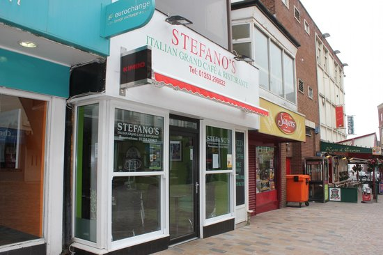 Stefano's: Best Italian in Blackpool and possibly the UK!