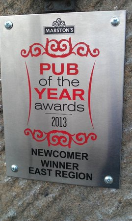 The Rutland Arms: Marstons Pub of The Year