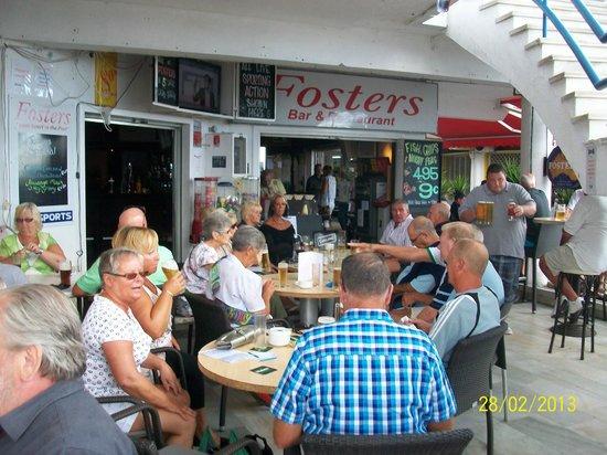 Fosters Irish Bar: fosters