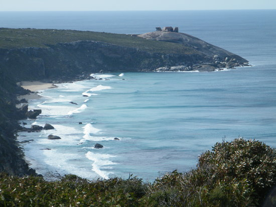 Southern Ocean Lodge: going to remarkable rocks